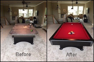 expert billiard table recovering in Cherry Hill content img3